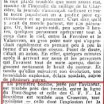 La Suisse bombardée à La Chaux-de-Fonds   Il y a cent ans