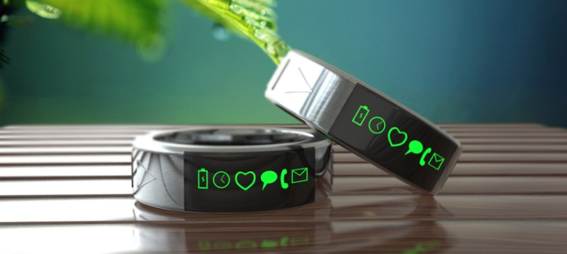 Smarty Ring med LED-display