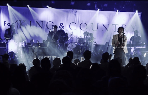 Light It Up LIVE Music Video By for King & Country