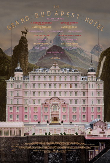 "Poster phim ""The Grand Budapest Hotel""."