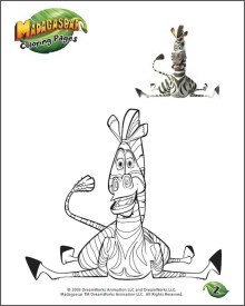 Free Madagascar 3 Printables, Games, Activities and