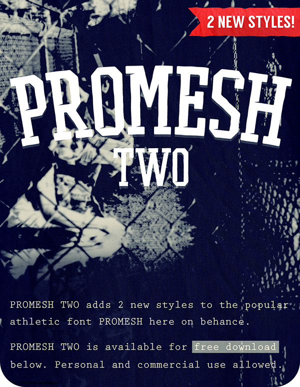 Promesh Two Free Font Download