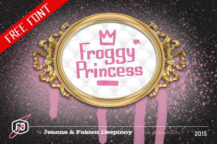 Froggy Princess Free Font Download