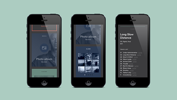 海外のレスポンシブWEBデザイン mobile モバイル