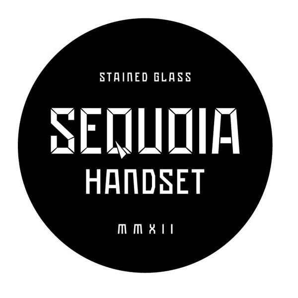 Sequoia Stained Glass Handset Font Download