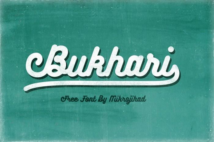 Bukhari Script Font Download