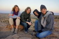 Brooke Hammerling, Matt Mullenweg, Scott Harrison, John Vechey