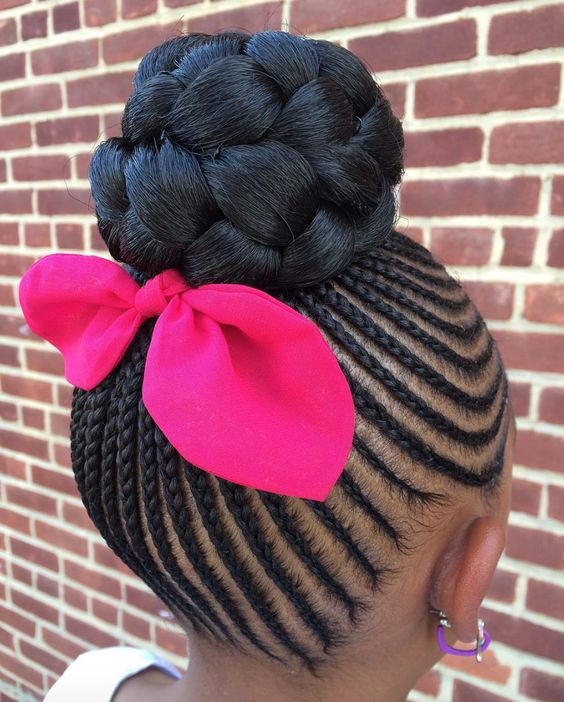 Cute Kids Cornrow Hairstyles For Your Lovely Girls
