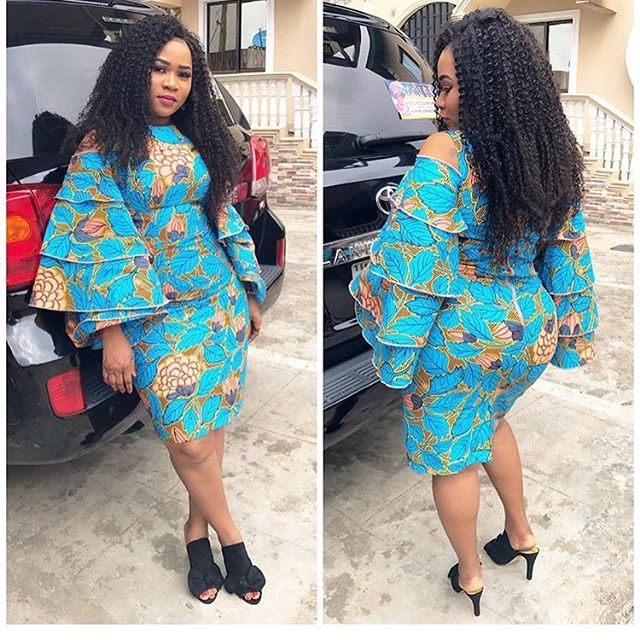 Short Ankara Dresses For Weddings 1