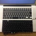 macbook pro A1286 キーボード交換、修理