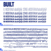 built.font_.family.10.fonts_.for_.240_icon