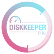 Diskkeeper pro the most advanced disk cache system clean and uninstaller tool icon