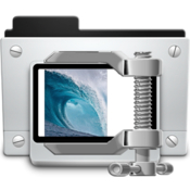 Compress all compress your photos images in seconds to reduce space icon