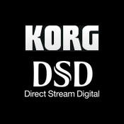 Korg dsd audio player logo icon