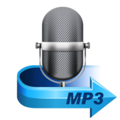 Mp3 audio recorder icon