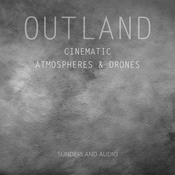 Outland cinematic atmospheres and drones icon