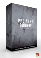 ProIntro Grunge - Introductions for Final Cut Pro X