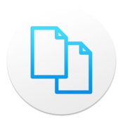 Duplikate modern duplicate files finder icon