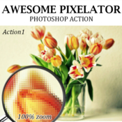 Graphicriver awesome pixelator photoshop action 19194726 icon