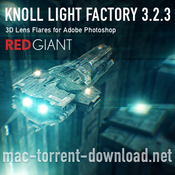 Red giant knoll light factory for photoshop icon