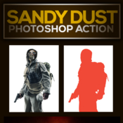Sandy dust photoshop action 13111006 icon