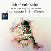Color smoke action 19345257 icon