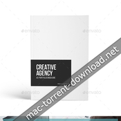 Creative agency a4 portfolio brochure 19529923 plantillas indd icon