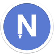 Noteapp plain text editor icon