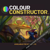 Color constructor for adobe photoshop icon