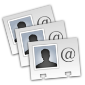 Exporter for contacts csv excel more formats icon