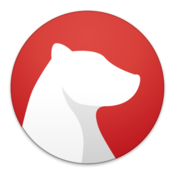 Bear writing app for notes and prose icon