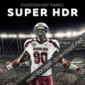 Super hdr panel 1 0 for adobe photoshop icon