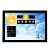 Motion weather 4k ultra hd icon