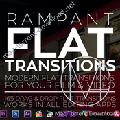 Rampant design tools flat transitions icon