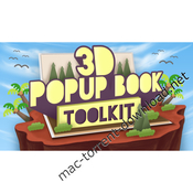 3d popup book toolkit icon
