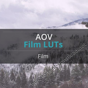 Aov film luts pack icon