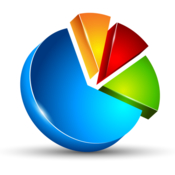 Statistics for googleanalytics icon