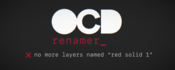 Ocd renamer for after effects icon