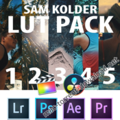 Sam kolder luts pack icon