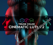 Triune color cinematic luts v2 icon
