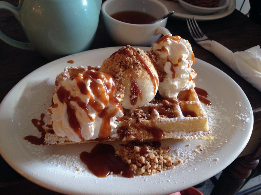 Bresilenne waffle $8.90