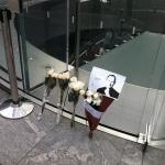 Steve Jobs tribute at Shanghai Apple Store