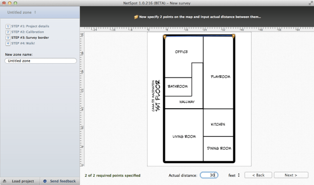 Step 1: import a floor plan image