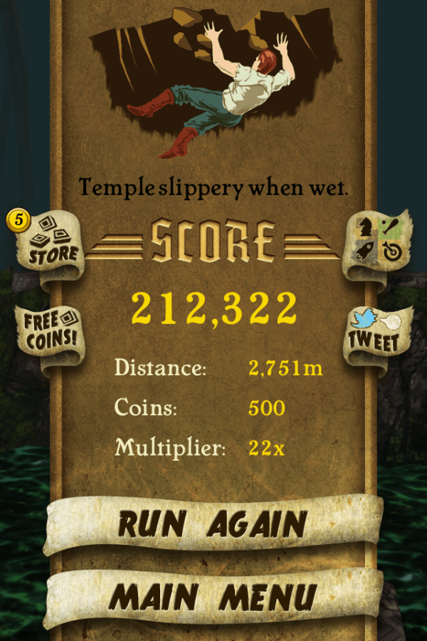 Temple Run iPhone 05
