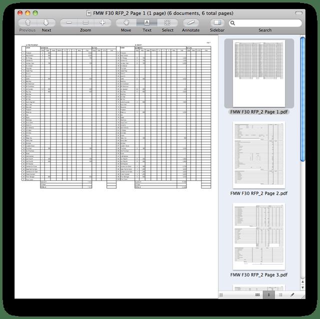 Combine PDFs in Mac OS X 1