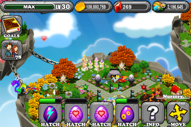 DragonVale LOVE Dragon Egg