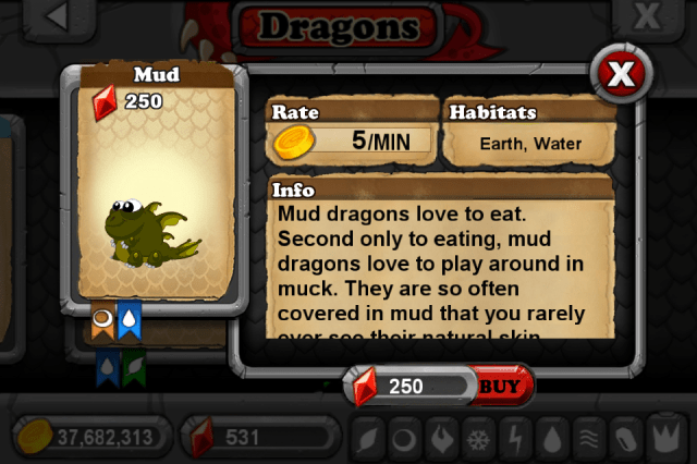 DragonVale MUD Dragon