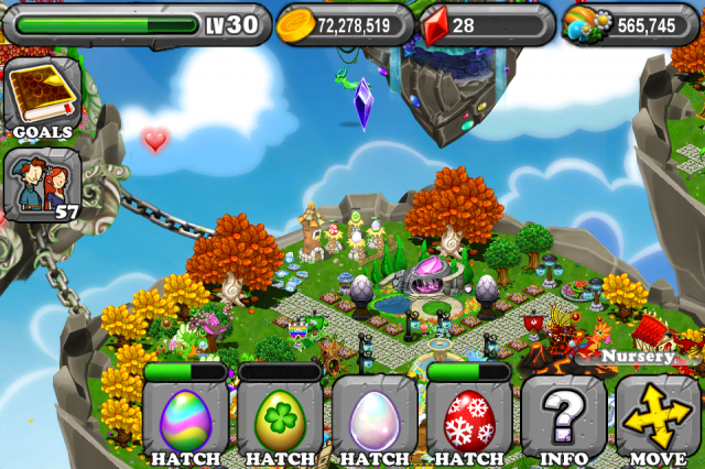 DragonVale PEARL Dragon Egg