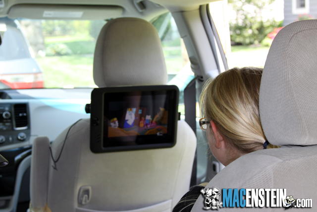Scosche backStage Pro headrest mount for iPad