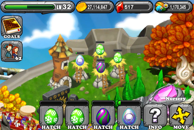 DragonVale EVERGREEN Dragon Egg